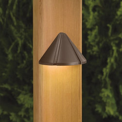 Kichler - Kichler Other Outdoor Wall Mount Light Fixture in Bronze - Shown in picture: LED Deck - Cast Brass in Bronzed Brass