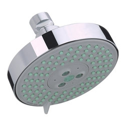 Hansgrohe - Hansgrohe-27457001 Raindance S 120 AIR 3-Jet Showerhead in Chrome - Hansgrohe-27457001 Raindance S 120 AIR 3-Jet Showerhead in ChromeFrom a simple handshower to a luxurious, oversized showerhead–Hansgrohe has everything you could wish for in a shower. Hansgrohe shower products provide you with the ultimate in design, functionality and quality, leading to performance and styles that will please even the most discerning bather. Rediscover water– as a source of relaxation in a soothing, warm rain shower or with an invigorating whirl-air massage. No matter what you want, you will find countless possibilities for your showering oasis with Hansgrohe.Hansgrohe-27457001 Raindance S 120 AIR 3-Jet Showerhead in Chrome, Features:• Oversized 5-Inch spray face• 3 spray patterns: AIR, Whirl AIR, and Balance AIR spray modes• 95 no-clog spray channels• Features Quiclean cleaning system and AIR-injection technology• Requires arm and flange - not includedHansgrohe-27457001 Specification Sheet Hansgrohe Installation Instructions Hansgrohe Limited WarrantyManufacturer: HansgroheModel Number: 27457001Manufacturer Part Number: Hansgrohe 27457001Collection: RaindanceFinish Code: Finish: ChromeUPC: 011097564340This product is also listed under the following Manufacturer Numbers and Finish Codes:Hansgrohe 27457001HG2745700127457001Product Category: Bathroom FaucetsProduct Type: Raindance Showerhead