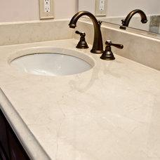 Modern Vanity Tops And Side Splashes by Granite Grannies