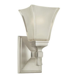 Hudson Valley Lighting - Hudson Valley Lighting 1171-SN Kirkland 1 Light Bathroom Vanity Light - This 1 light Bath And Vanity from the Kirkland collection by Hudson Valley Lighting will enhance your home with a perfect mix of form and function. The features include a Satin Nickel finish applied by experts. This item qualifies for free shipping!