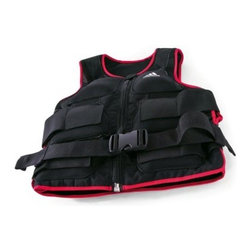 adidas Weighted Vest - Long - The adidas Weighted Vest – Long lets you add incremental amounts of weight to your workout, providing a customizable challenge. Cardio, push-ups, pull-ups and more are all given new dimension when this vest is donned. The weight pockets and vest both feature reinforced zippers, while adjustable straps and buckles ensures the vest fits snugly. The vest is made from a breathable material that won't chafe and is machine washable.About Impex FitnessEstablished in 1980, Impex Fitness is on the front lines of innovation in today's health marketplace. They specialize in home fitness/smith machine style equipment that appeals to the whole family and offers a complete workout experience. Impex emcompasses a variety of brands including Marcy, Competitor, Hers, Easy Outdoor and Gym Dandy for children. Your family's health as their highest priority, Impex Fitness strives to develop the most pioneering fitness equipment available.