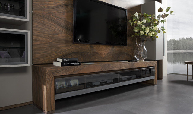 Modern Home Theater by Khrome Studios