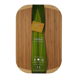 Architec™ Housewares - EcoSmart™ by Architec™ Bamboo Cutting Board, 12 X 18 - EcoSmart™ by Architec™ Bamboo Cutting Board. Formaldehyde free & grown without the use of chemicals.