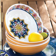 Eclectic Serving Bowls by Pottery Barn