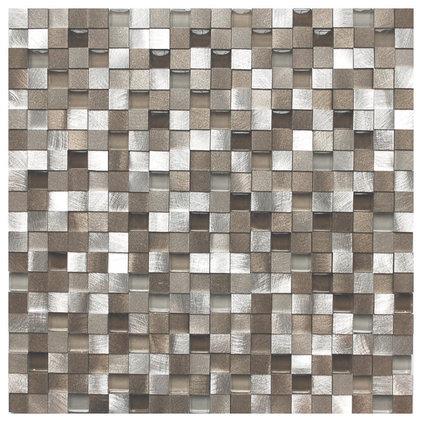 Contemporary Tile by Eden Mosaic Tile