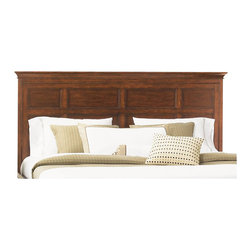 Magnussen - Magnussen Harrison Wood King Panel Bed Headboard - Magnussen - Headboards - B139864H