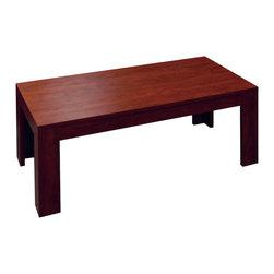"""Boss Chairs - Boss Chairs Boss Rectangular Coffee Table in Mahogany - 48"""" coffee table in rich Mahogany finish."""