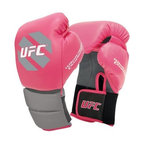 UFC Womens Boxing Gloves - 10 oz. - Strap on the UFC Womens Boxing Gloves - 10 oz. and be ready to take to the ring.Ideal intermediate-level trainerCushioned grip prevents fatigueHook and loop closure ensures secure fitFlomotion palm promotes breathabilityManufacturer's warranty included - see Product Guarantee area for detailsAbout Century LLCCentury's core belief is that martial arts can profoundly impact people's lives, and they want everyone to reap the lifetime benefits. In 1976, Century began by creating martial arts products, and has grown to become the largest supplier of martial arts products in the world. When the company moved to Midwest City, Oklahoma, in 1982, the original building provided 50,000 square feet to help the founders achieve their mission. Since then, the company has expanded to a 650,000 square foot facility, and also broadened its product offering to include yoga, boxing, MMA gear, and physical fitness equipment.