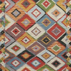 """Momeni - Momeni Caravan CAR-1 5' x 7'6"""" Multi Rug - This Hand Woven area rug would make a great addition to any room in the house. The plush feel and durability of this area rug will make it a must for your home."""