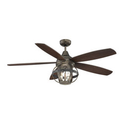 Savoy House - Savoy House 52-840-5CN Alsace 5 Blade 3 Light Hanging Ceiling Fan with Remote Co - Features: