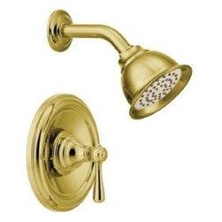 Moen - Moen Kingsley Posi-Temp Shower Only Faucet, Polished Brass (T2112EPP) - Moen T2112EPP Kingsley Posi-Temp Shower Only Faucet, Polished Brass