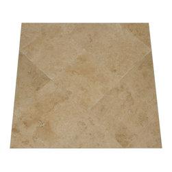 Travertine Mart - Light Honed & Filled Travertine Tile - Honed & Filled 18x18 Light Travertine Tile