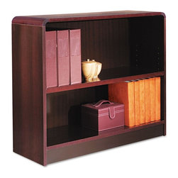 Alera - Alera BCR23036MY Aleradius Corner Wood Veneer Bookcase - Mahogany Brown - ALEBCR - Shop for Bookcases from Hayneedle.com! About AleraWith the goal of meeting the needs of all offices -- big or small casual or serious -- Alera offers an excellent line of furnishings that you'll love to see Monday through Friday. Alera is committed to quality innovative design precision styling and premium ergonomics ensuring consistent satisfaction.