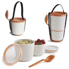 Contemporary Lunch Boxes And Totes Lunch Pot