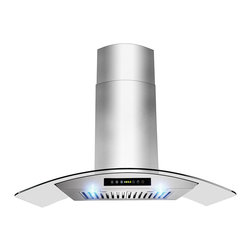 Golden Vantage - Golden Vantage OSWRH703C-30-GV Stainless Steel Wall Mount Range Hood - When it comes to style,these hoods can complement any kitchen decor. By incorporating multiple exhaust options and a modern appearance,Golden Vantage provides innovative range hoods designed to accentuate today's lifestyles.