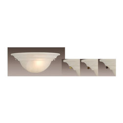 Vaxcel Lighting - Vaxcel Lighting WS65373 Babylon 1 Light Wall Washer - Features: