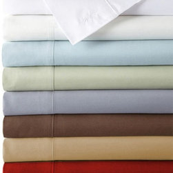 Bed Voyage - BedVoyage 300 Thread Count Bamboo Sheet Set - BVG082 - Shop for Sheets from Hayneedle.com! Bamboo is the new Egyptian cotton and whether scrumptious plum or brilliant ivory refreshing sage or rich mocha and white as clean as can be this BedVoyage 300 Thread Count Bamboo Sheet Set will satisfy your desire for luxury. Not only is bamboo smooth and comfy; it's also eco-friendly! Bamboo is a highly renewable resource and its antibacterial properties not only eliminate the need for pesticides but make for a clean bedding experience. Bamboo is also thermal regulating; these sheets will keep you warm in winter and cool during summer. Included are one fitted sheet one flat sheet and one pillowcase. Why wait?About BedVoyageBedVoyage is devoted to one thing: your unparalleled comfort. Since the idea was formed in 2008 by Sharon Stuart now CEO of BedVoyage this has been her mission and with a special fabric in mind: bamboo. Now offering a range of bamboo products from sheet sets to duvets towels and even special patent-pending travel linens and accessories variety joins a winning team of style comfort and luxury.