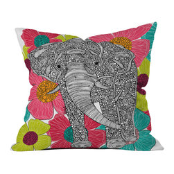 DENY Designs - Valentina Ramos Groveland Throw Pillow - Wanna transform a serious room into a fun, inviting space? Looking to complete a room full of solids with a unique print? Need to add a pop of color to your dull, lackluster space? Accomplish all of the above with one simple, yet powerful home accessory we like to call the DENY throw pillow collection! Custom printed in the USA for every order.