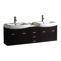 Vigo - VIGO VG09001104K1 Bathroom Vanity - Start every morning with this elegant VIGO bathroom vanity. No other brand can match VIGO's style, quality and design.