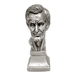 Casa de Arti - Sculpture of President Abraham Lincoln Bust Figurine Statue Bust - Beautiful bust of President Lincoln, perfect collector's item at an incredible price!