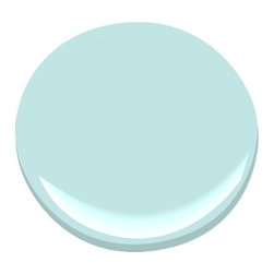 Forget Me Not 2049-60 Paint - This blue paint from Benjamin Moore would be beautiful on a ceiling.