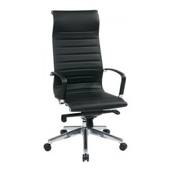IFN Modern - Eames High Back Chair with Head Rest - This office chair offers great comfort with its built in head rest and design. Comes with many features it will be perfect for any office environment.