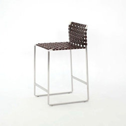 Woven Bar Stool Available at SUITENY.COM - Available at SUITENY.COM