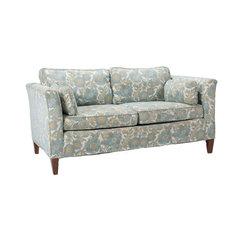 Unbranded - Consigned Mid Century Retro Floral Love Seat - • Mid Century | Retro
