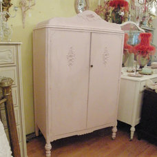 Eclectic Armoires And Wardrobes by Donna Thomas Vintage Chic Furniture