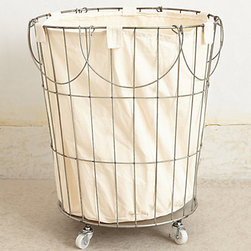 Anthropologie - Trellis Storage Basket - I've always loved the look of these baskets! I can think of so many uses for them — even besides laundry.