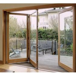 Costum & Folding Glass Door - Orange County's glass door and window installation company - Eisenbart & Sons.
