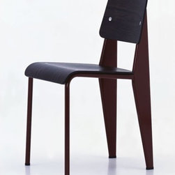 Vitra jean prouve side chair chairs take the most for What does contemporary furniture mean