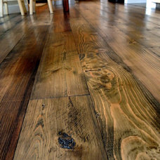Rustic Wood Flooring by Sustainable Lumber Co.