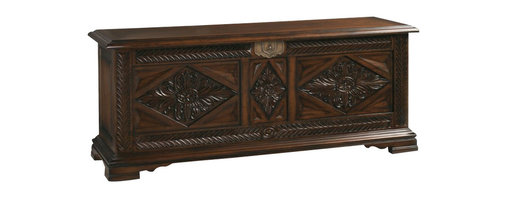 Henry Link - Henry Link Mombasa Trunk in Dark Umber Finish - Henry Link - Coffee Tables - 014011301 - About This Product: