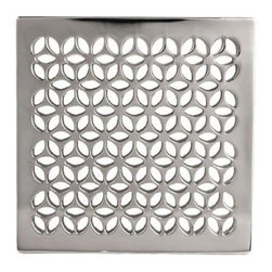 "Newport Brass - Newport Brass 233-403 Decorative Drains 4"" Square Shower Drain Grid - Features:Solid brass constructionEasy to install - magnetically securedRequires Newport Brass drain throat 277-01, sold separatelySpecifications:Length: 4-1/16""Width: 4-1/16""Depth: 3/16"""