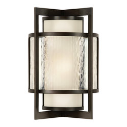 Singapore Moderne Outdoor Outdoor Wall Sconce, 818281ST