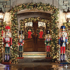 traditional holiday outdoor decorations by FRONTGATE