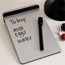 Silver Desktop Dry-Erase Board - See Jane Work