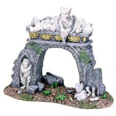 Amazon.com: Exotic Environments Gargoyle Hearth Aquarium Ornament: Pet Supplies