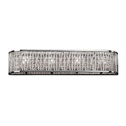Trans Globe Lighting - Trans Globe Lighting MDN-1213 Bathroom Light In Polished Chrome - Part Number: MDN-1213