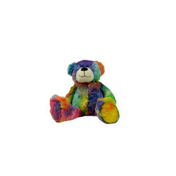 Lava - Bean Bag Bear Tie Dye Rainbow - 100% polyester cover. Polyester and Polystyrene bead fill.