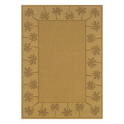 """Sphinx - Sphinx Lanai 606d Outdoor Rug - 6 ft 3 in x 9 ft 2 in - Oriental Weavers Sphinx Lanai 606d Area Rug . The Lanai Collection was inspired by the beauty and popularity of natural Sisal rugs. The multiple weaves and textures in each rug create fashionable, yet casual looks. The collection not only offers casual designs, but the inherently stain resistant fibers encourage a relaxed atmosphere to socialize with family and friends without the traditional worries associated with natural fiber rugs.Features: Casual designs inspired by sisal rugs, Multiple weaves and textures, Inherently stain resistantConstruction: Machine MadeMaterial: 100% PolypropylenePile Height: 1/8"""" - 1/4""""Please Note: Call for availability. Colors may differ from pictures.Please ask about getting a sample if you are unsure of color."""