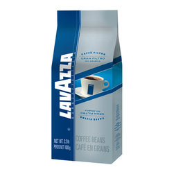 Lavazza - Lavazza Whole Bean 2.2lb, Gran Filtro Regular - Wishy-washy coffee just doesn't work for you. So brew true intensity at home with these dark, delicious beans. You'll get rich, full-bodied flavor from either a drip device or an espresso machine.