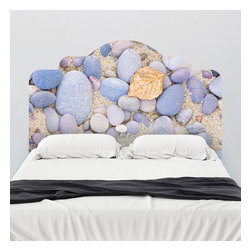 J. Paul Moore - Paul Moore's Pebble Beach Headboard Wall Decal - It may not be THE Pebble Beach, but this adhesive headboard wall decal works for us non-golfers just fine. Don't worry about what Mr. Mickelson is doing this round, just hit the hay in peace with this beach scene above your bed.