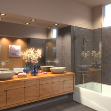 Modern Bathtubs by Ark Showers