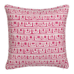 "Legacy Home On The Square Pillow w/ Piping, 20""Sq."