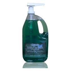 MARBLELIFE - MARBLELIFE Marble & Travertine Cleaner Concentrate, Gallon - Save 90% using Concentrate versus Ready-to-Use Cleaners. Simply purchase a ready-to-use spray bottle and re-use the bottle. Better for the environment, better for your pocket book and still the best care for your marble and stone surfaces!