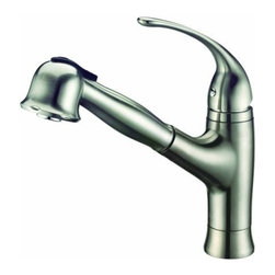Dawn - Dawn AB50 3708BN Single-Lever Kitchen Faucet Brushed Nickel - Dawn AB503708BN Single-lever kitchen faucet, Brushed Nickel