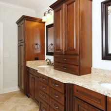 bathroom countertops by Cary Granite