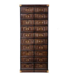 Hinged Door Cabinet - Remember when card-catalog cabinets were in your local library? Or how ...